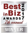 Best in Biz Silver Award Winner