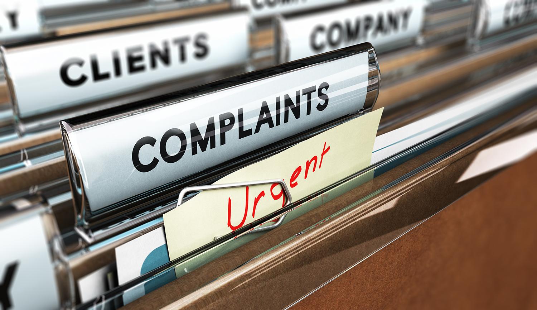 Consumer Complaint Report