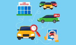 Auto Loans stock art