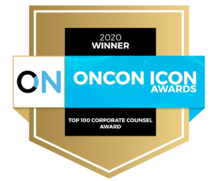 Oncon Icon Corporate Counsel Award