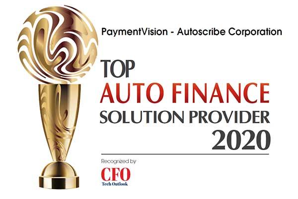 top auto finance provider award